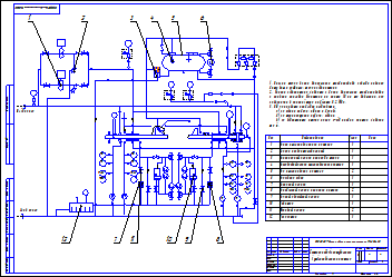 Buy Lubrication diagram compressor Cooper Bessemer RR-2BB and download
