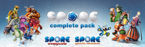 Spore Complete Pack (SteamGift\RegionFree\RoW)