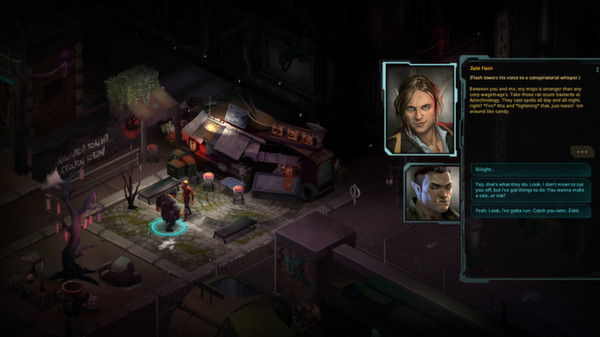 Shadowrun Returns: Dragonfall (Steam Gift \\ RoW)