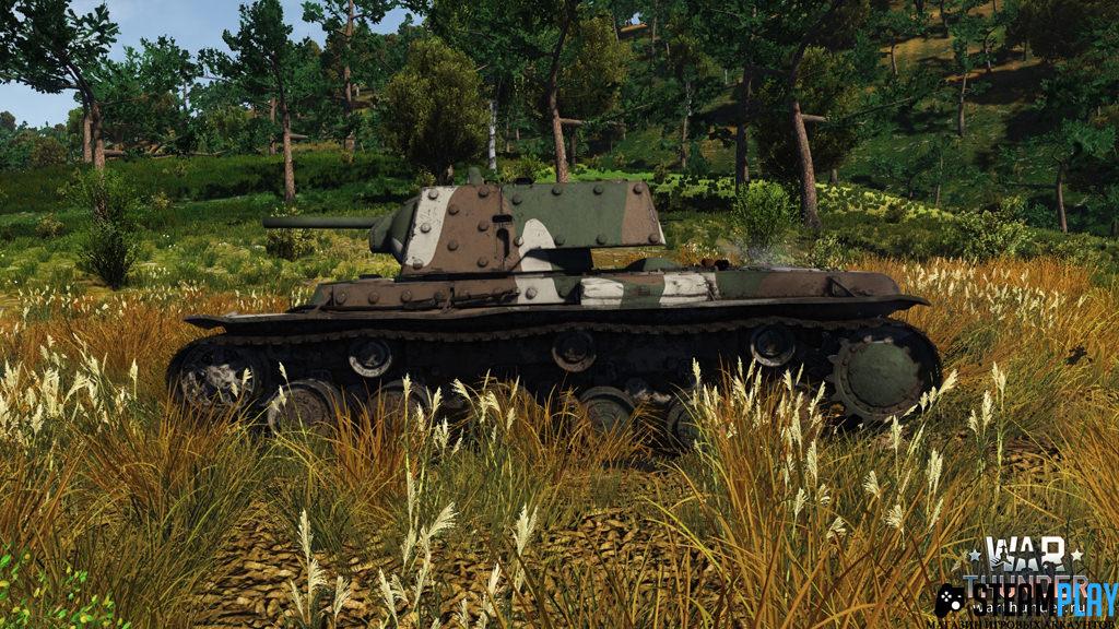 Buy War Thunder bonus-code Tank KV-1B and 1000 gold eagles and download