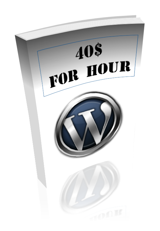 "Course: ""1200 rubles per hour for the installation of WordPress»"