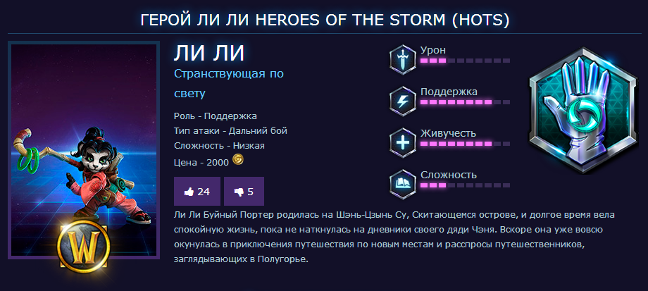 HERO LI LI + SONYA для HOST/Region Free/Battle.net Key