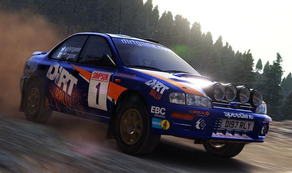 DiRT Rally Steam GLOBAL KEY