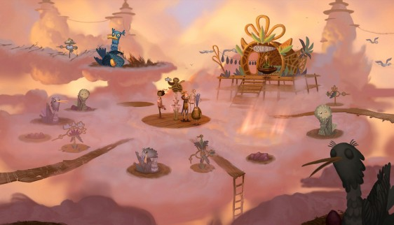 Broken Age STEAM/Region Free/Key +BONUS