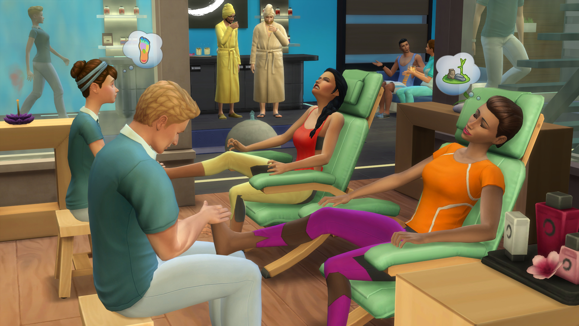 The SIMS 4 Day SPA (Origin / Key / Global) + Bonus