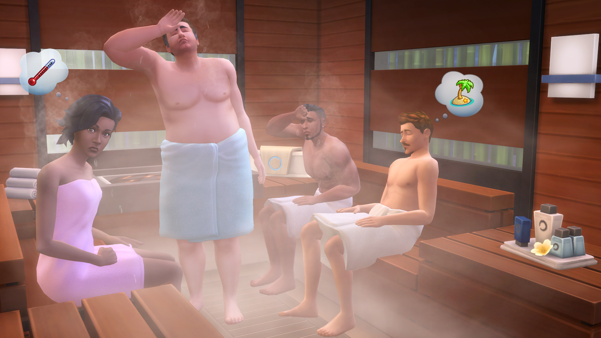 The SIMS 4 Day SPA (Origin / Key / Global)