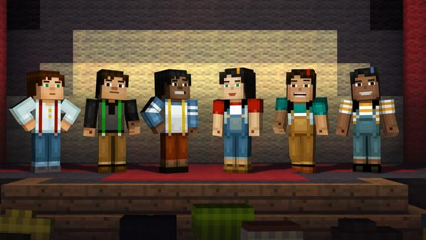 Minecraft: Story Mode (Telltalegames.com/Key/ROW)+BONUS