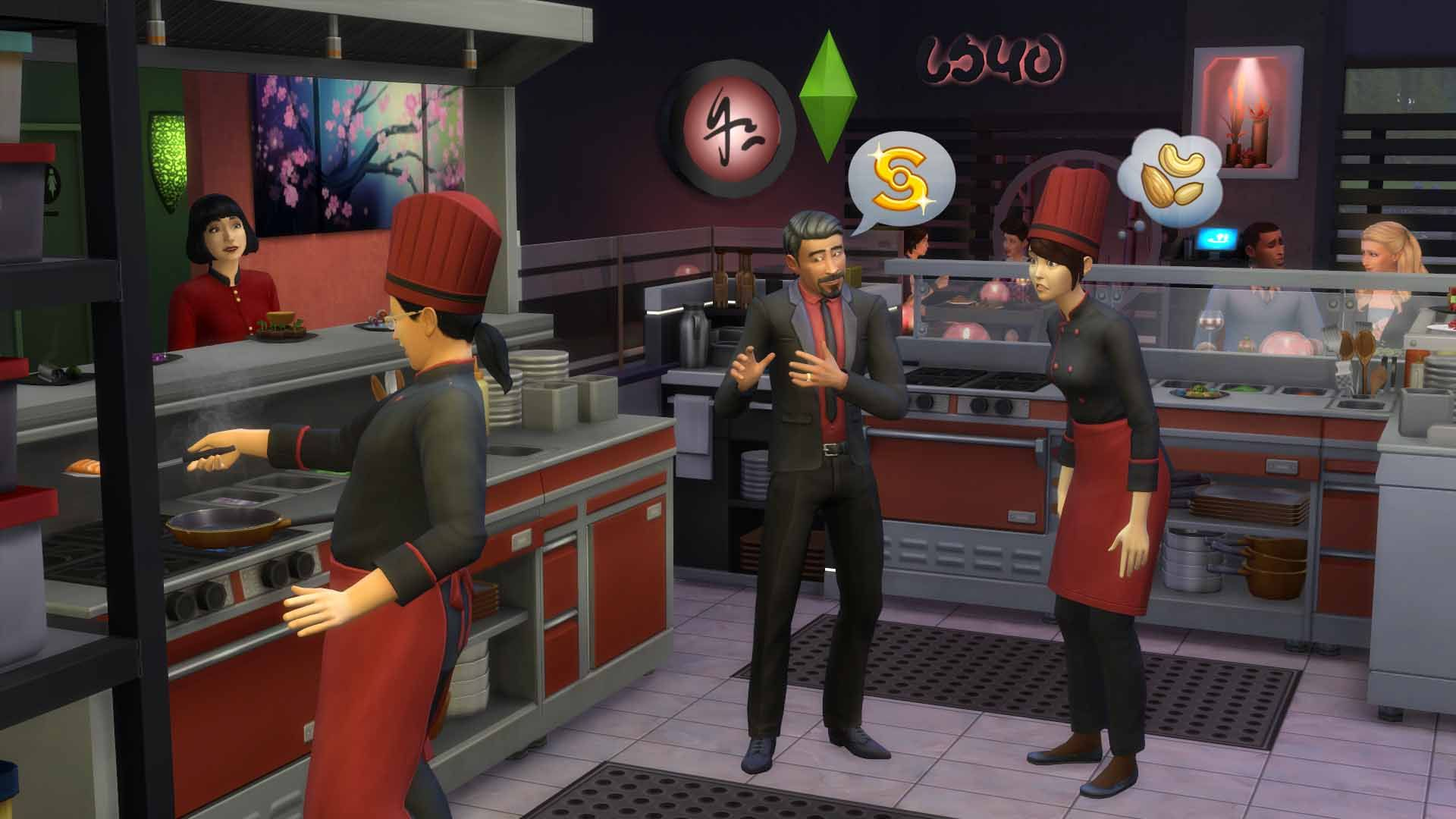 The SIMS 4 Dine Out (Origin / Key / Global)