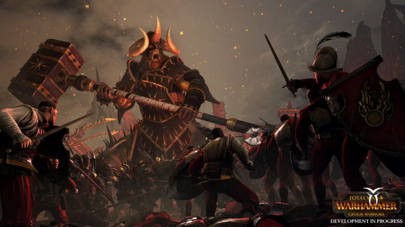 Total War  Warhammer - DLC Chaos Warriors (Steam Key)