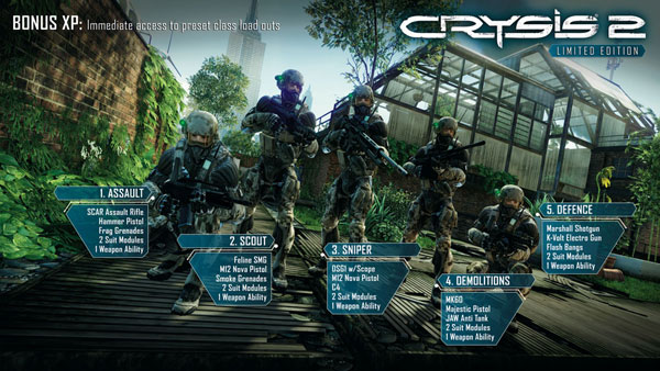 Crysis 2 Limited Edition (Region Free/Multiland)