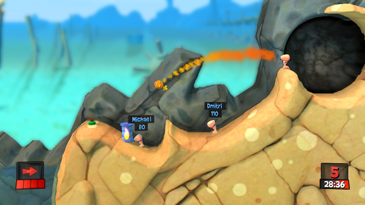 Worms Revolution Gold Edition (Steam/Ru)
