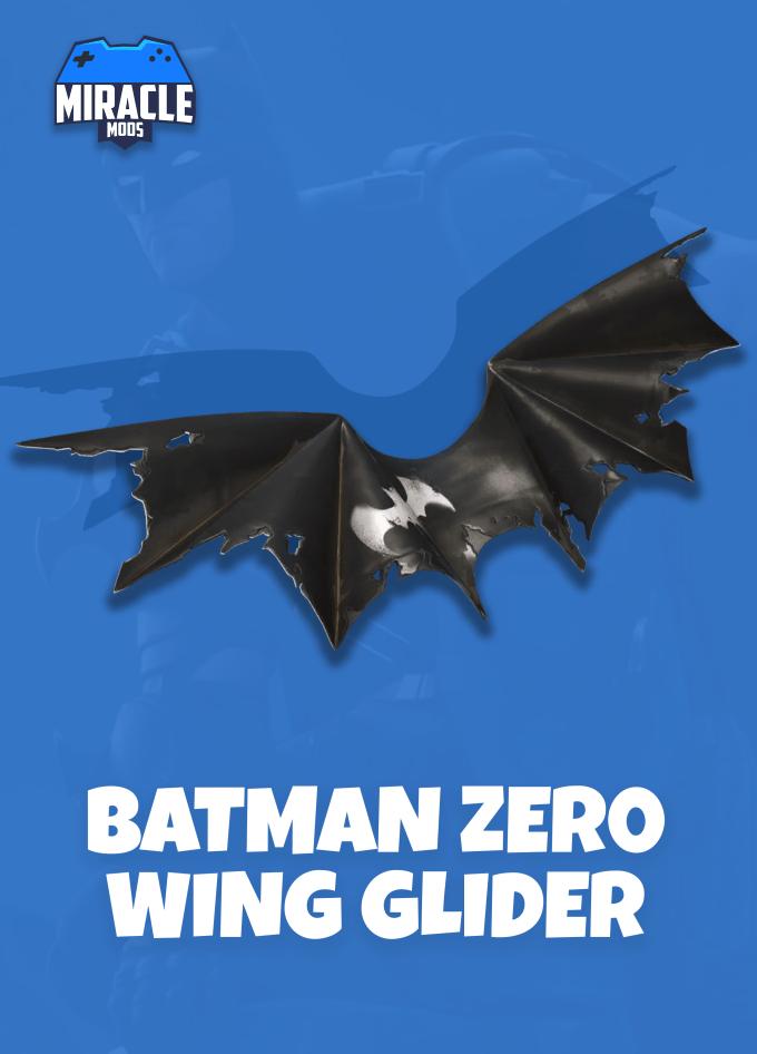 Фотография fortnite - batman zero 💥 wing glider (epic/global)
