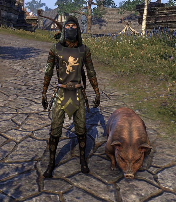 Bristlegut Piglet (pet) + 15 days ESO Plus + 750 Crown.