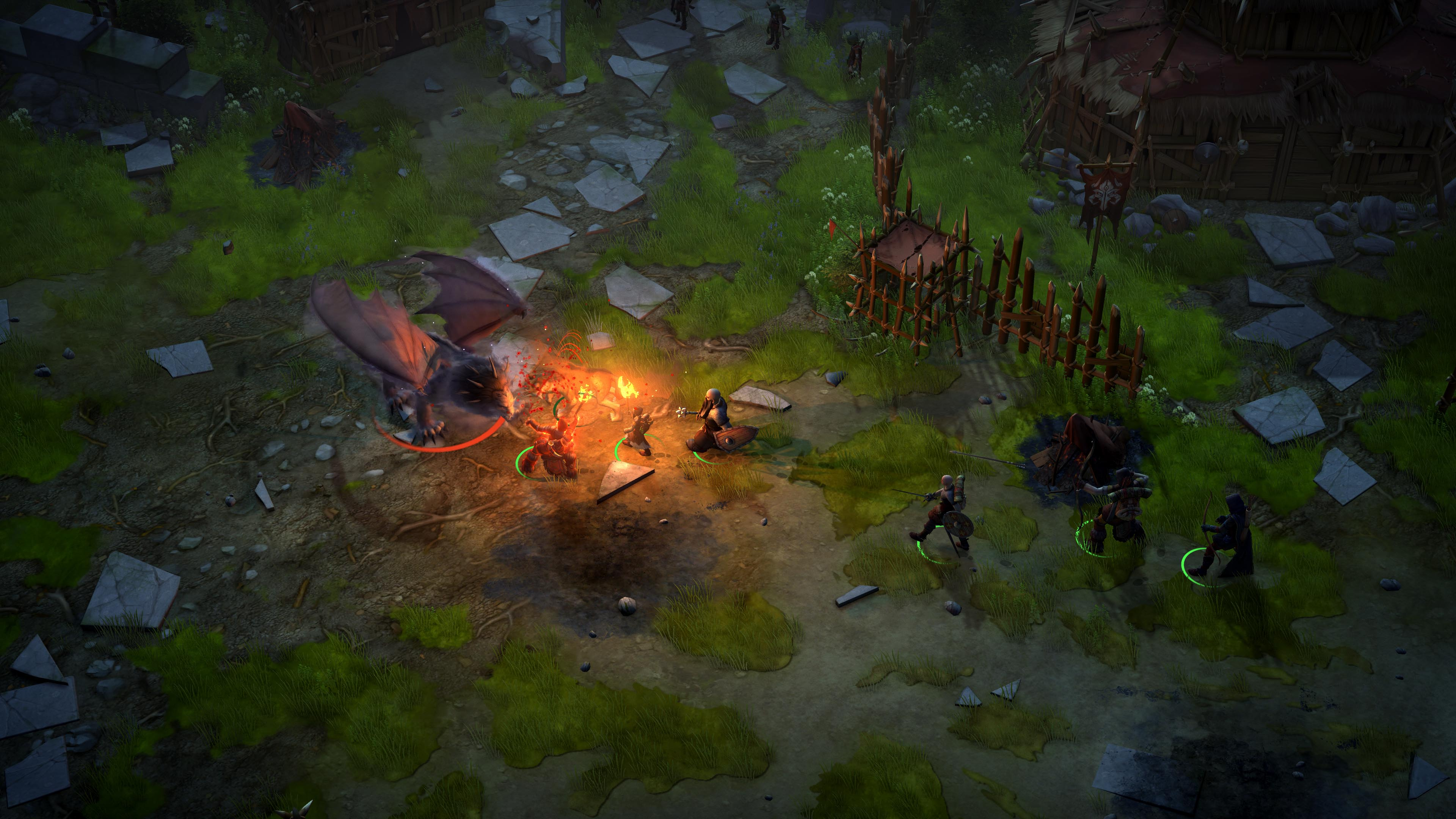 Скриншот  2 - Pathfinder: Kingmaker (Steam Ключ)