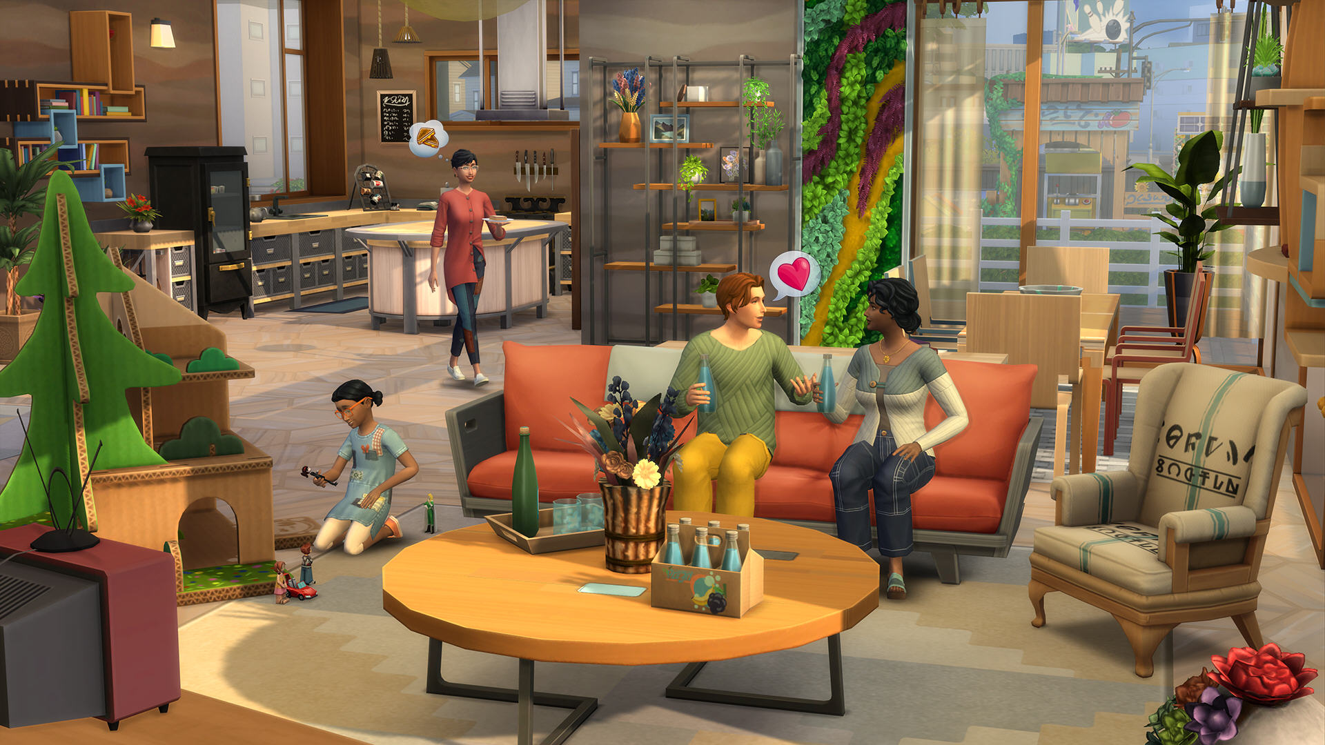 The Sims 4: ECO LIFESTYLE (Origin/Global)