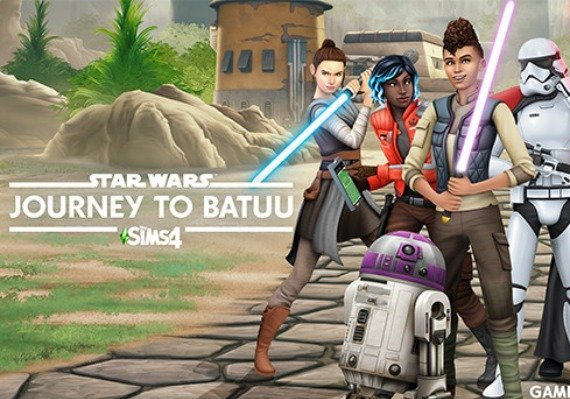 the sims 4 star wars: journey to batuu dlc (origin 1195 rur