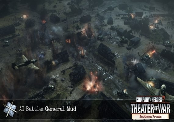 Company of Heroes 2: Southern Fronts Mission Pack DLC