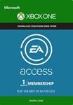 EA Play (EA Access) 1 месяц  Xbox One (Весь Мир)