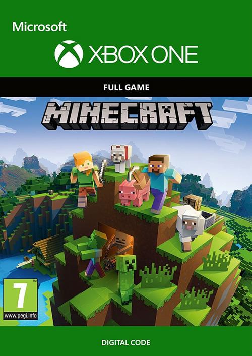 Minecraft + 3 DLC (Xbox One | Global Key) 2019