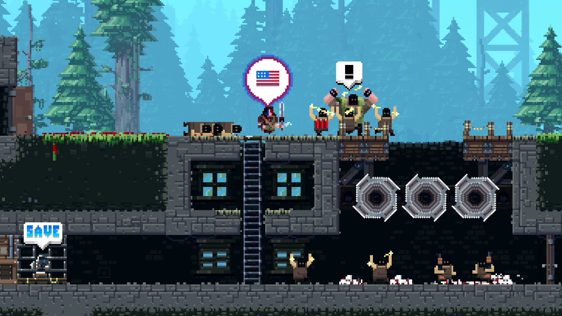 Broforce ( Steam Gift / RU + CIS )