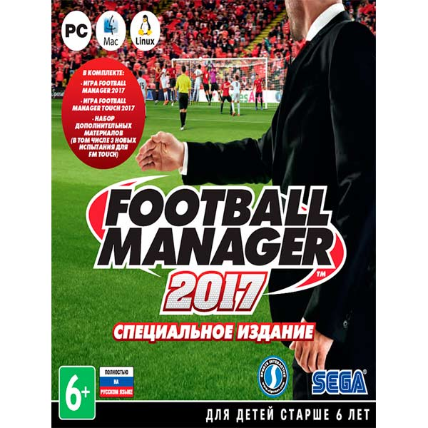 Football Manager 2017 + Touch ( Steam Key RU ) 2019