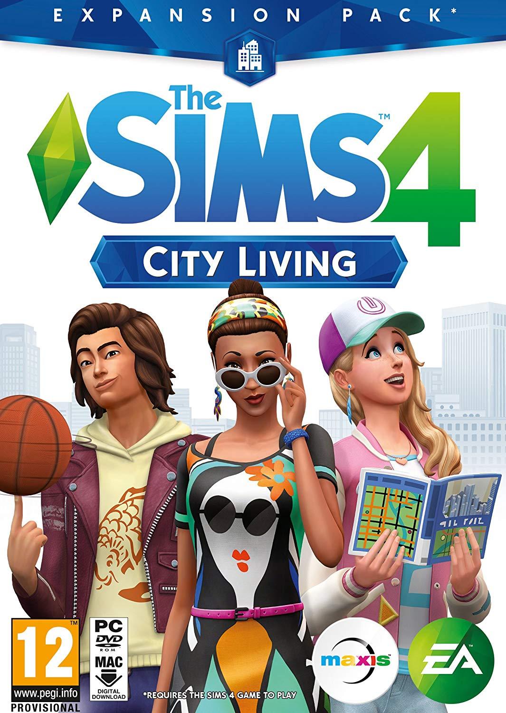 The Sims 4 : City Living DLC Origin Key GLOBAL 2019
