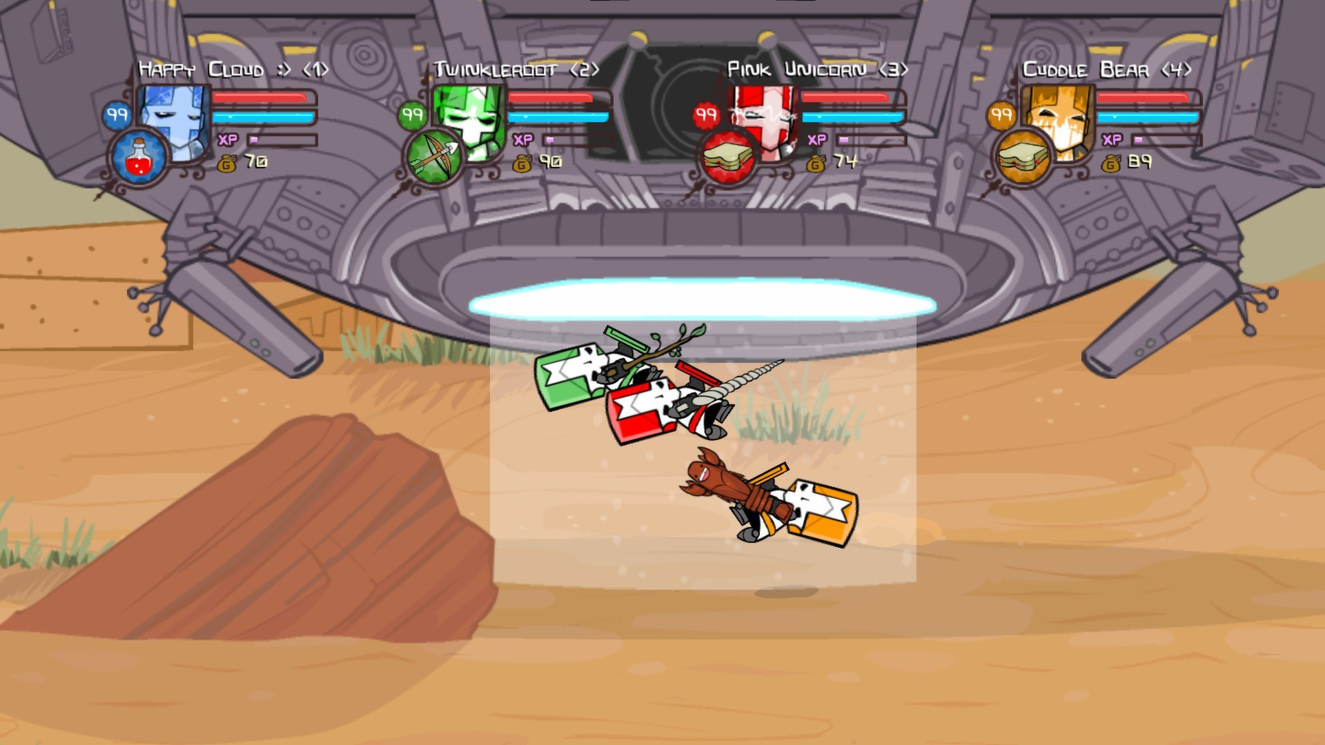 Castle Crashers ( Steam Gift / RU + CIS )