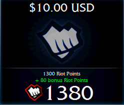 Riot Points League of Legends (USA) - favorable price