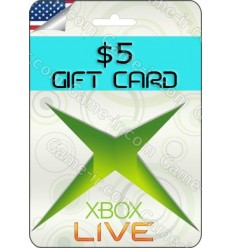 5$ US XBox Gift Card - gift card for commet!