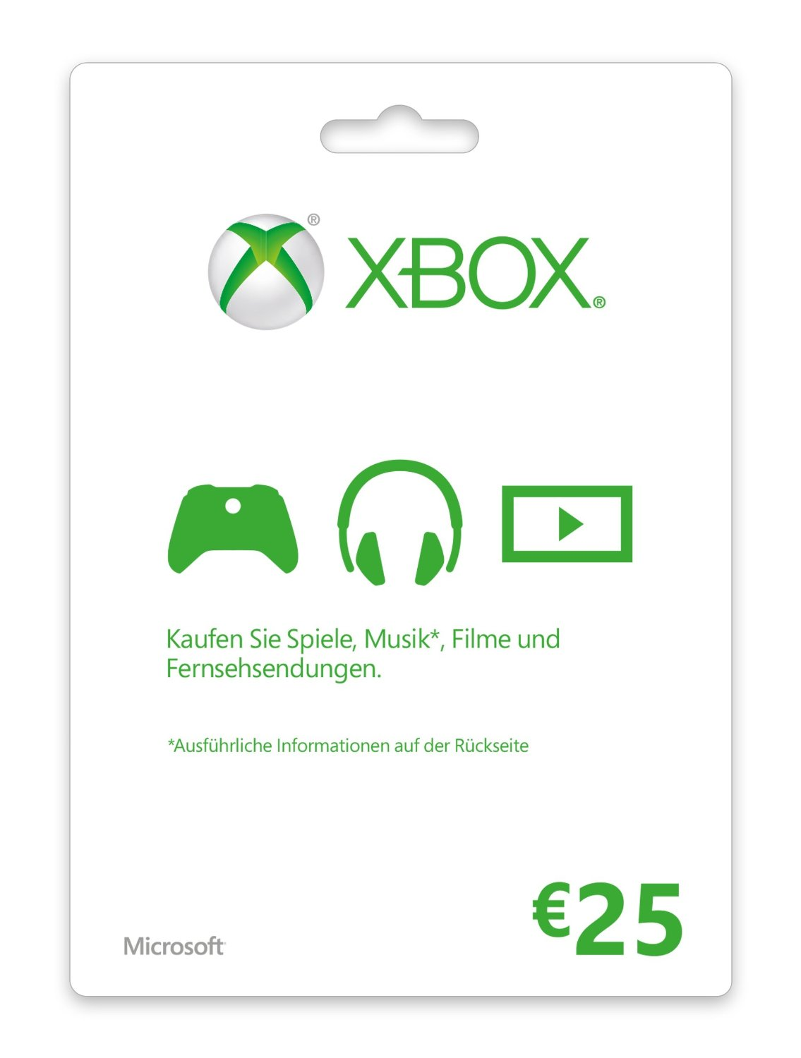 €25 US XBox Gift Card - gift card for commet!