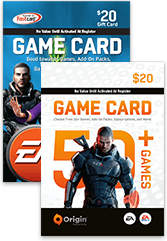 20 USD EA GAME CARD ORIGIN US
