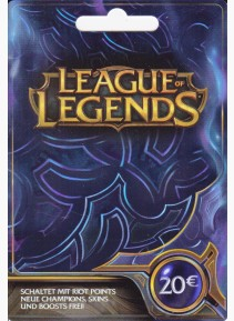 20EUR - 3250RP League of Legends Game Card (EU West/NE)
