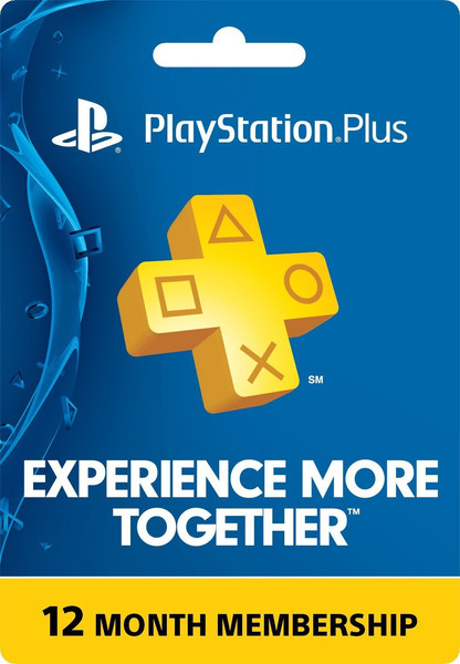 PSN Plus Membership  - 12 Month (365 days) USA