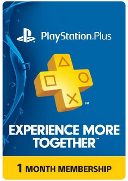 PSN Plus Membership  - 1 Month (30 days) USA