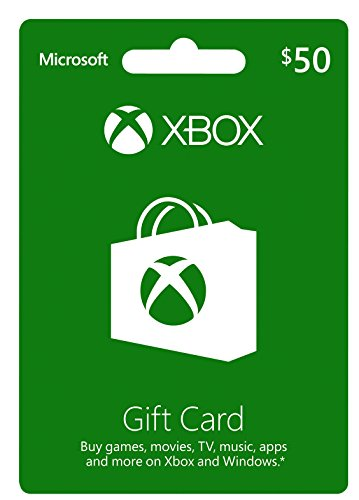 50$ US XBox Gift Card