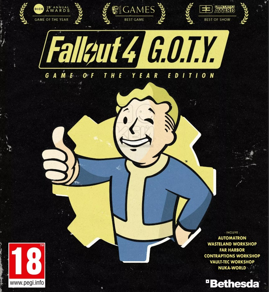Fallout 4: Game of the Year Edition (Russia)
