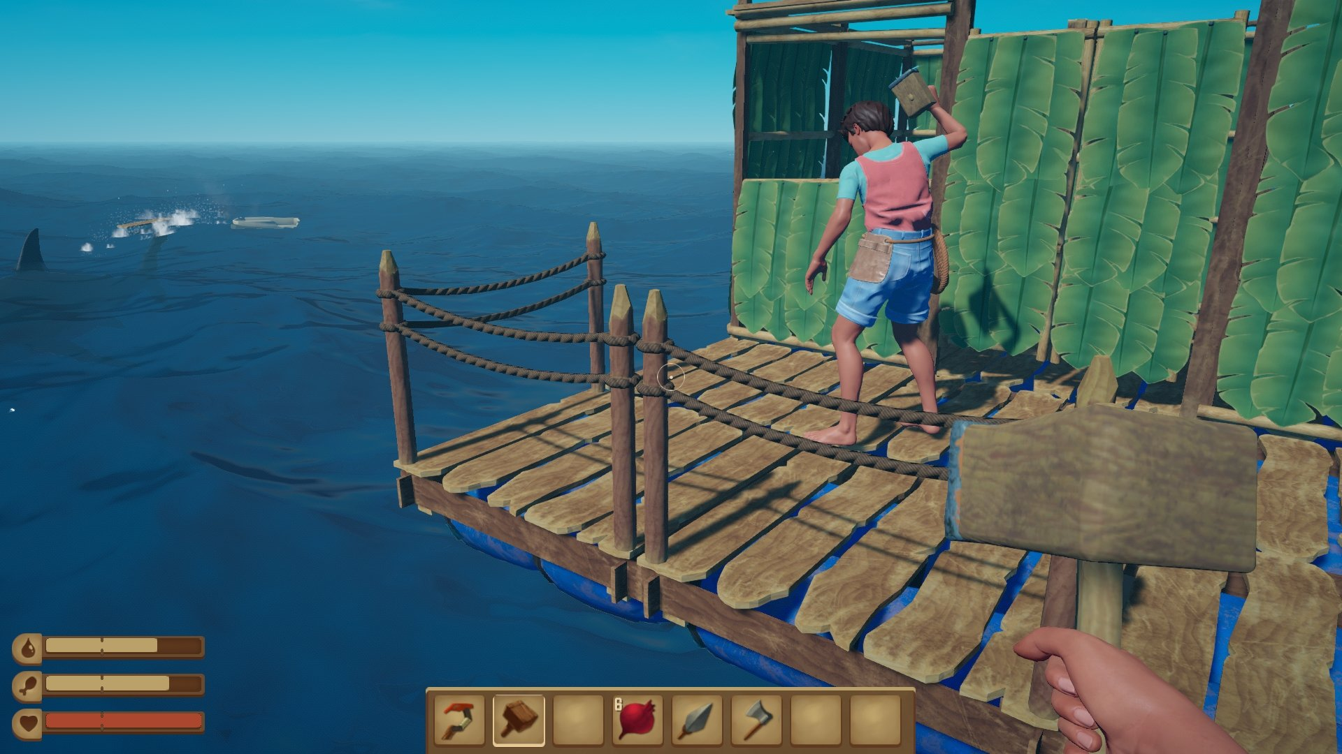 Raft (only for Russian Steam account)