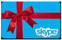 Купить 10€ Skype Voucher Original (активация на www.skype.com)