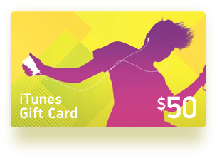 50$ iTunes USA Gift Card - Apple Store