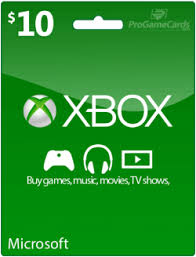 10$ US XBox Gift Card