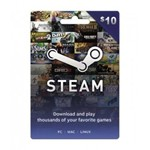 10$ Steam Wallet Card (Global) Discount