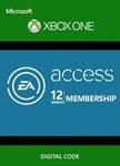 EA Access Pass 12 мес. (все страны) Xbox One