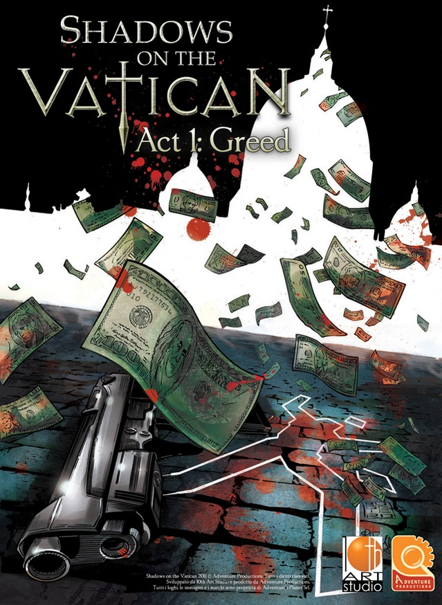 Shadows on the Vatican Act I: Greed - Region Free Key