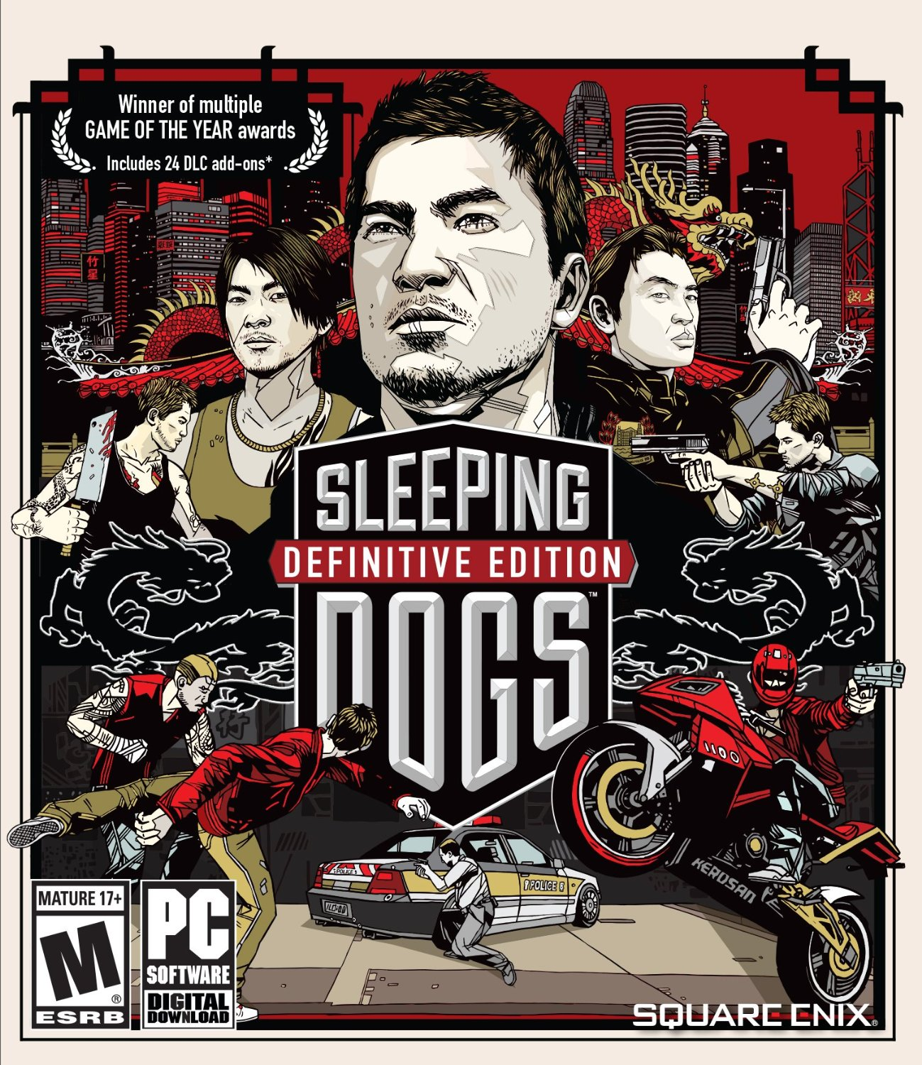 Sleeping Dogs: Definitive Edition - RU-CIS Steam CD Key
