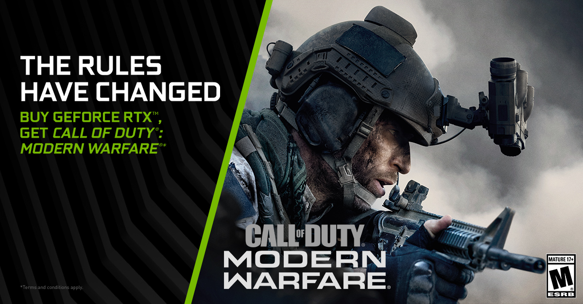 Call of Duty: Modern Warfare 2019 NVIDIA pre-activated