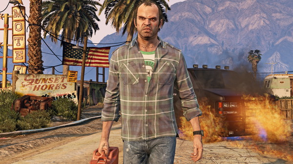Grand Theft Auto V 5 (Steam Gift / Region Free / ROW)