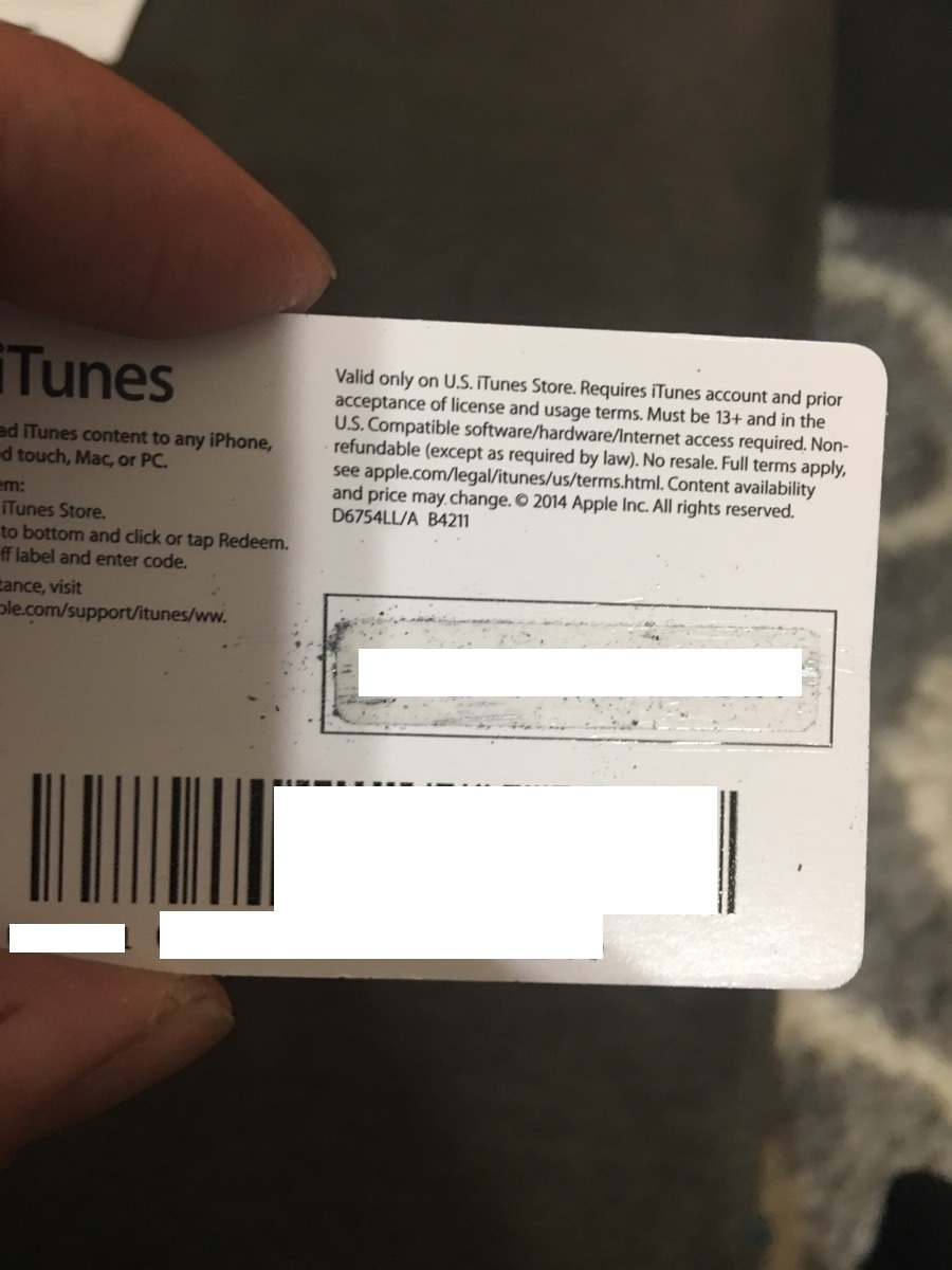 iTunes Gift Card $10 USA Scan Card + Discounts