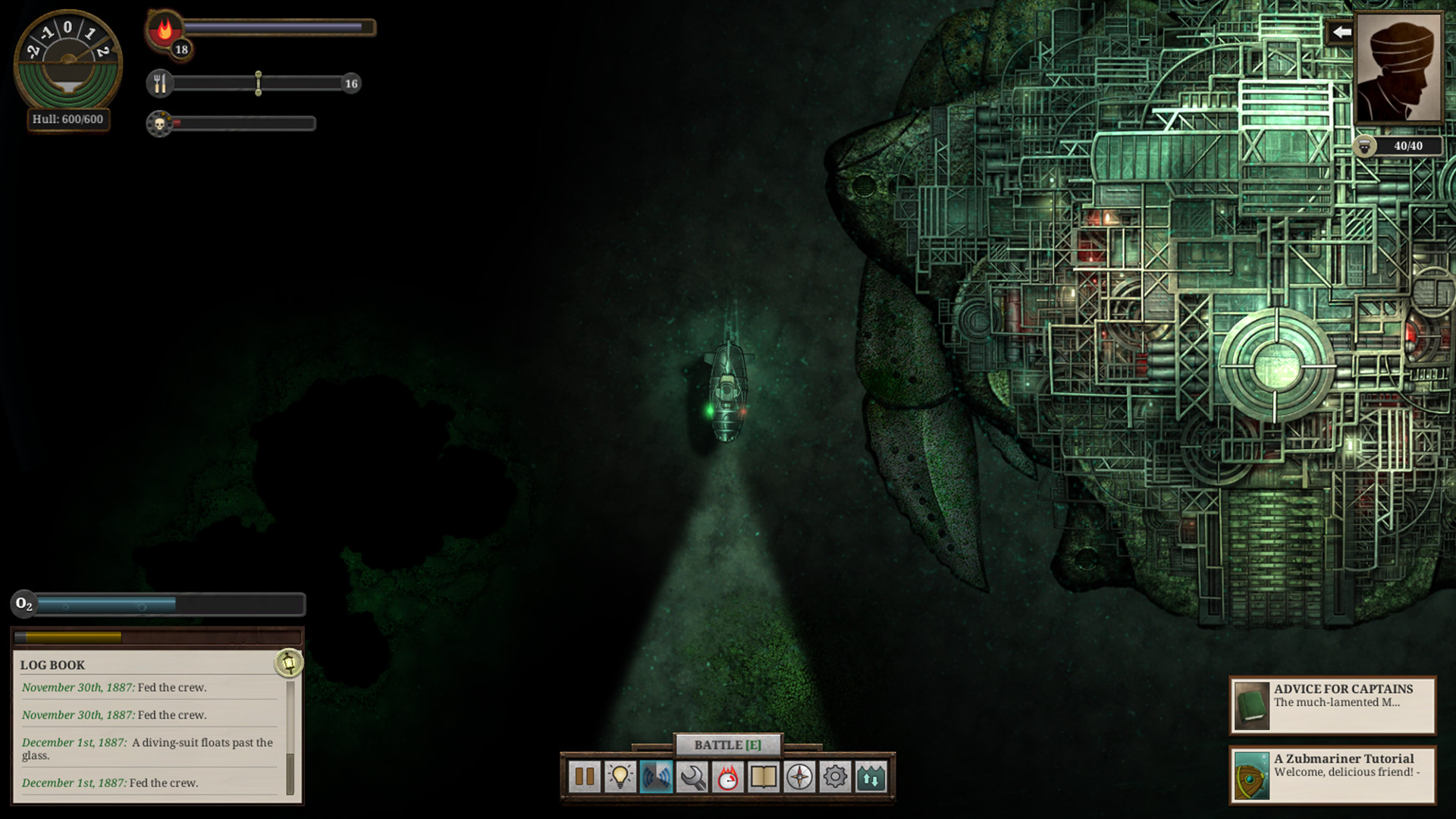 Sunless Sea - Zubmariner DLC (Steam, RU)