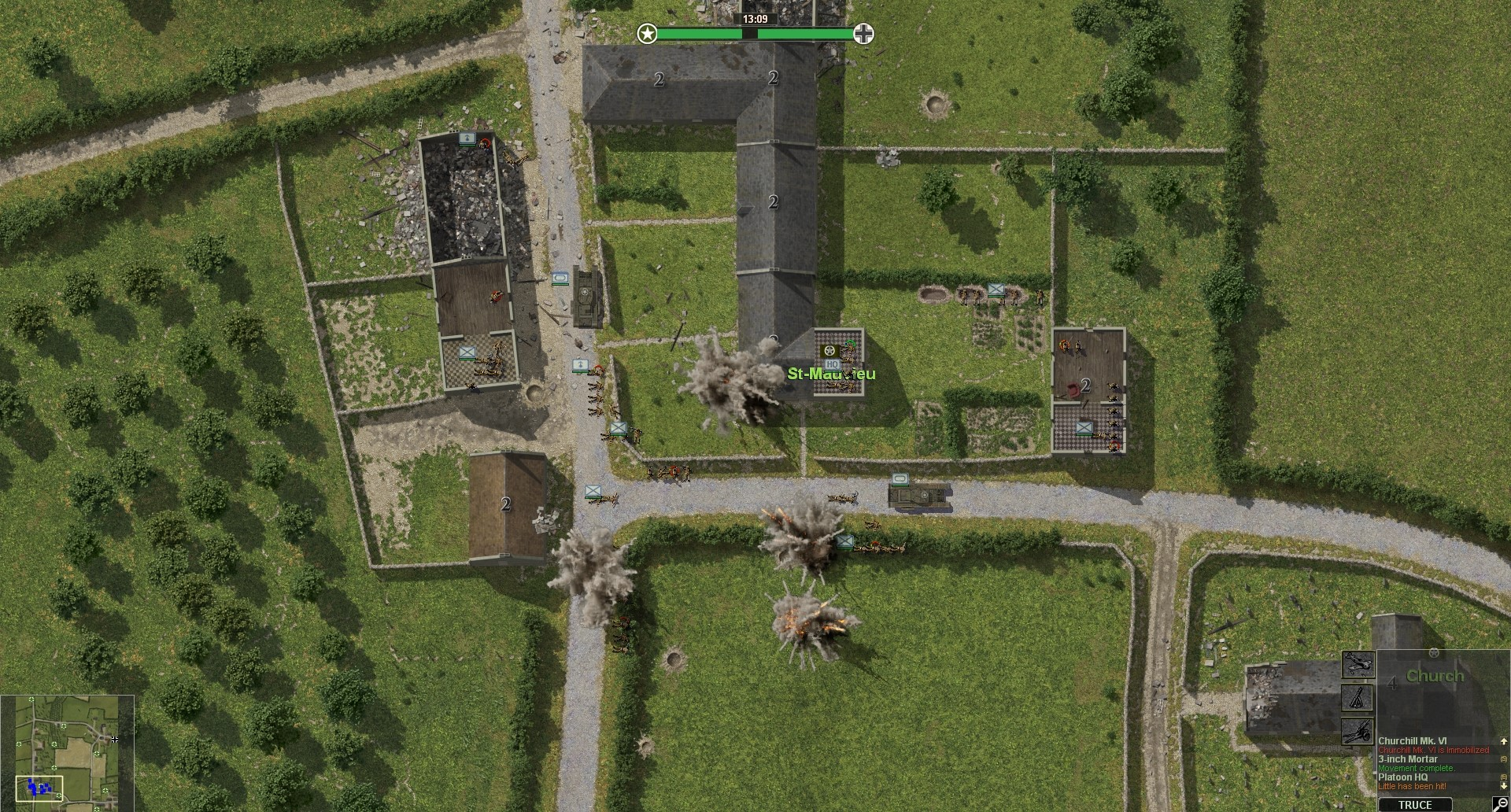 Close Combat Gateway to Caen  (Steam, RU region) + Gift
