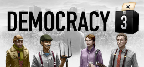 Democracy 3 (Steam, RU region) + Gift